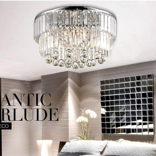 Free Shipping Crystal Hanging Ceiling Light Bedroom Ceiling lamps Crystals Dining Room Ceiling Lamp living Room Ceiling Lights