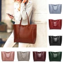 Mujer casual Bolsas mujeres borla de cuero bolsa feminina bolso crossbody bolso carteras y Bolsos De Mujer