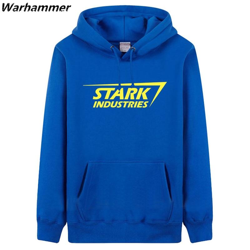 STARK INDUSTRIES Heren Hoodie Sweatshirts mode-stijl dikke fleece - Herenkleding - Foto 4