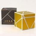 Nuevo Cubo Mágico Puzzle Fangshi Diversiones 2x2 Fantasma Con Plata, Rojo, Oro Cubo 2 en 2 Cubo Aprendizaje y Educativos Juguetes Para Niños de Compras de La Gota