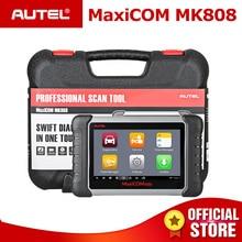 Autel MaxiCOM MK808 OBD2 сканер инструмент диагностики OBDII автомобильный код читателя все Системы ключ программирования IMMO DPF TMPS PK MX808