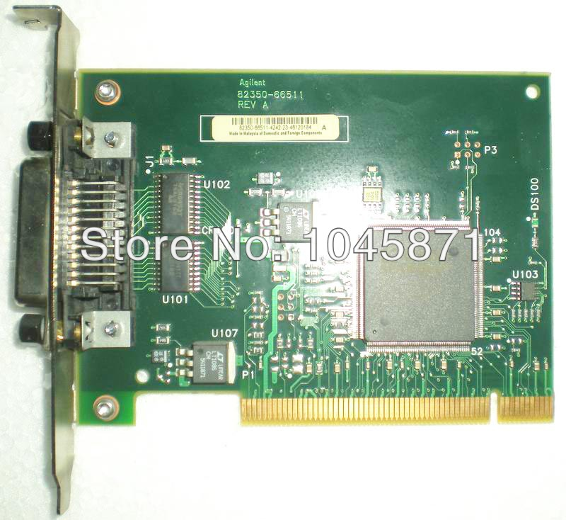 U003 (used) 82350B PCI-GPIB Interface Card FREE SHIPPING