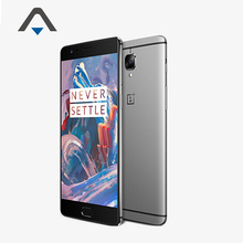"Оригинал Oneplus 3 Три LTE 4 Г Смартфон 5.5 ""H2 OS Android6.0 Snapdragon 820 Quad Core 6 ГБ RAM 64 ГБ ROM 16MP Touch ID Фото(China (Mainland))"