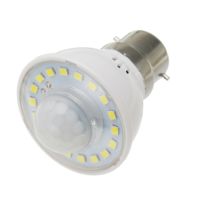 LED Lamp Bulb E27 B22 3W PIR Infrared Motion Sensor Warm White Pure White LED Light Bulb AC 220V For Home Stair Corridor Lights
