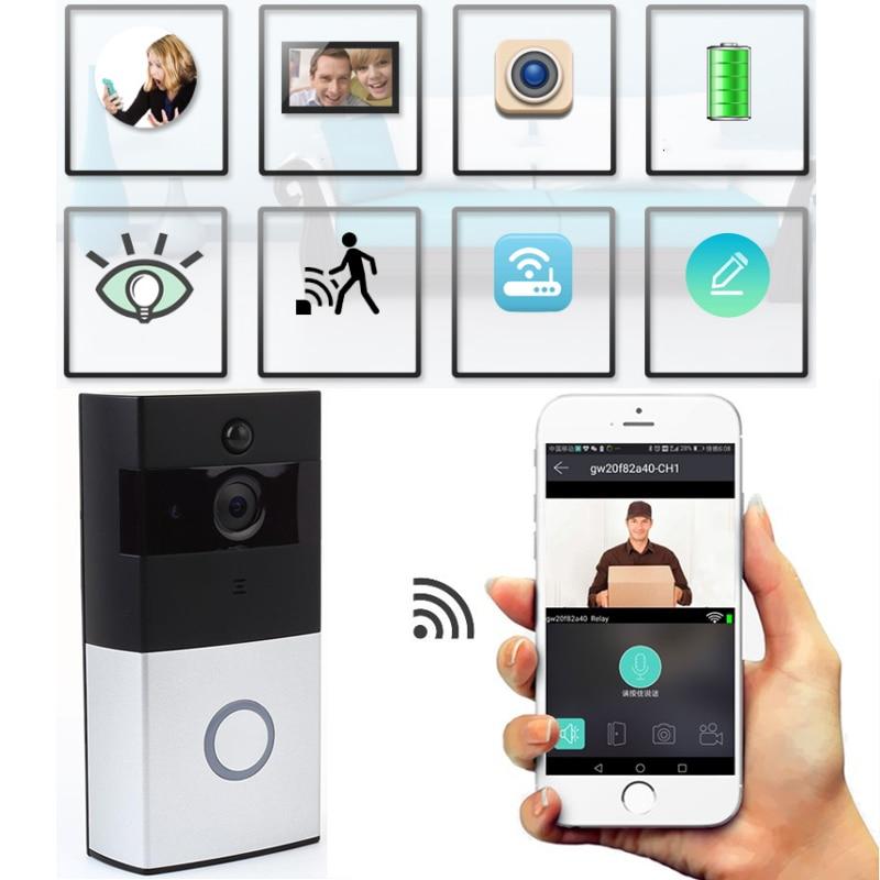 giantree 720P Wireless IP Doorbell Phone ring Doorbell Camera IR Night Vision WIFI Phone Voice intercom Motion Detection wireless wifi ip doorbell ir night vision rain proof