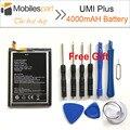 Umi plus 426486hv alta qualidade substituição 4000 mah li-ion bateria back-up de bateria para umi smartphone mais
