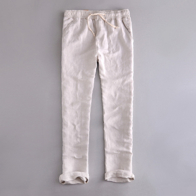 Compare Prices on Elastic Waist Linen Pants- Online Shopping/Buy ...