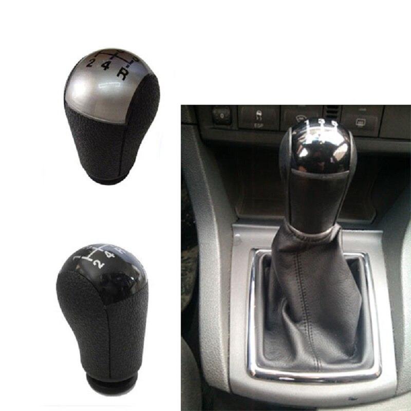 Silver/ Black Car Gear Manuel Stick Shift Knob Shifter Knob For FORD FOCUS MK2 MONDEO MK3 C-MAX S-MAX TRANSIT GALAXY FIESTA