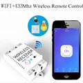 Беспроводной приемник WIFI + 433 МГц  умный пульт дистанционного управления