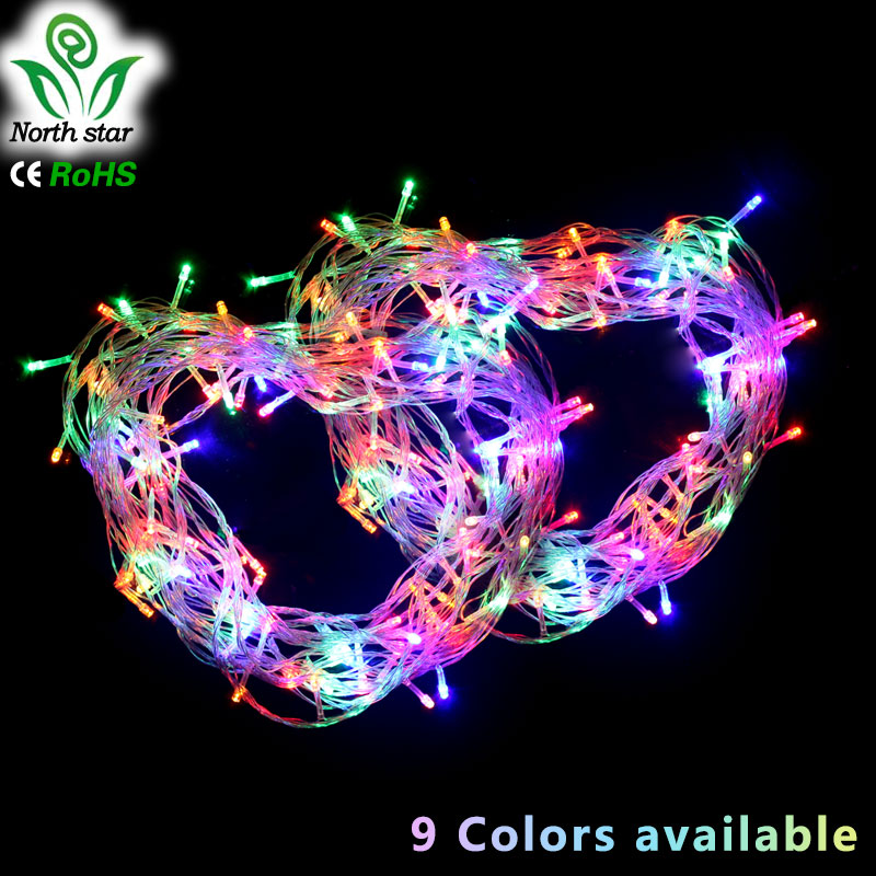 christmas gift hot sale 10m 100 led string lights for xmas garland party wedding decoration. Black Bedroom Furniture Sets. Home Design Ideas