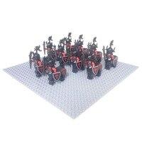10 יחידות הקנטאור טירת סטורמר הקנטאור Knigts אביר דרקון אבזר לבנה חבילה עם אבן בניין נשק חיל פרשים