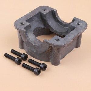 Image 5 - Cylinder Bottom Adaptor Engine Motor Pan Base For HUSQVARNA 340 350 345 346 XP Chainsaw Parts