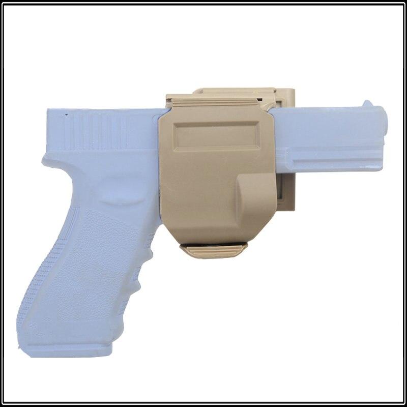 Tactical Airsoft Caza Disparos Estilo CP 360 Rotary Pistolera Glock G17 G19 G22