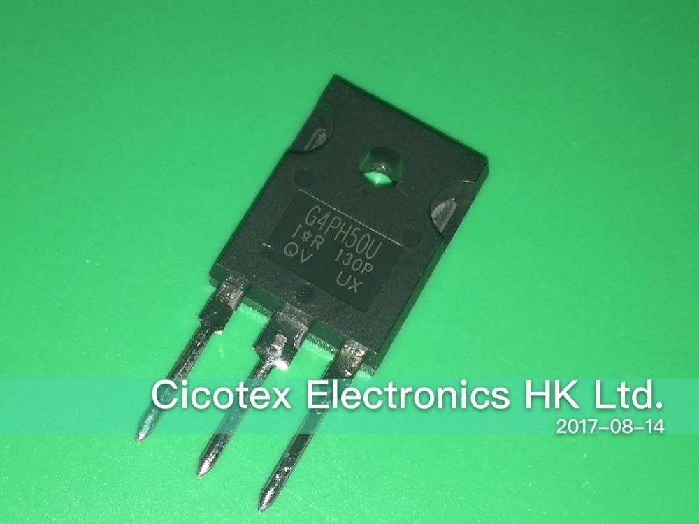 5pcs/lot ELECTRONIC COMPONENTS IRG4PH50U IGBT TUBE IRG4PH50UPBF G4PH50U TO-247 IGBT 1200V 45A 200W TO247AC