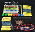 10 set Portable Kit Resistor LED Capacitor Jumper Wires Breadboard for Arduino Handy Starter Kit