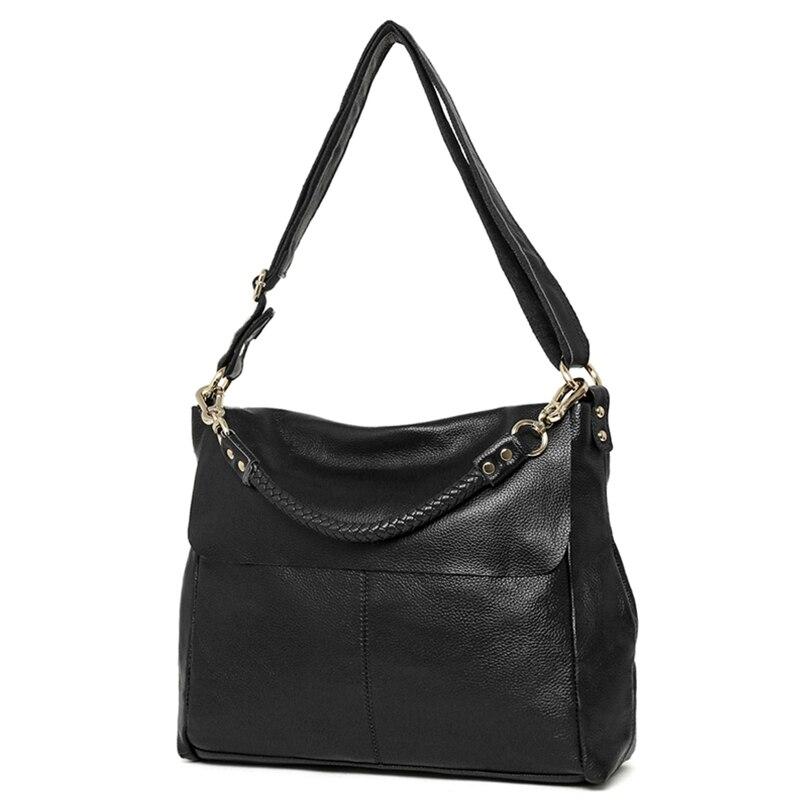 2017 Luxury Brand Designer Ladies Casual Tote Bag Purse Genuine Cow Leather Women Handbag Large Capacity Shoulder Messenger bag стоимость