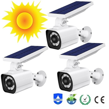 8LED Solar Light IP66 Waterproof Garden Solar Led Para Exterior PIR Motion Outdoor Preventive Monitoring Emergency Security Lamp