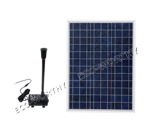 Solar Water Panel Powered Fountain Pump Kit for Pool Garden Pond Watering solar powered mini water pump fountain pool garden watering black