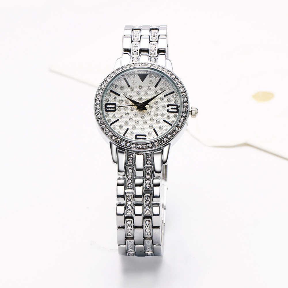 Женские часы DreamCarnival, роскошные кварцевые наручные часы с кристаллами, черные часы с указателем руки, Oman, A8363