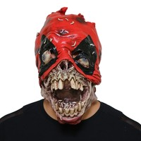 DeadPool Cosplay Horror Mask Halloween Stage Latex Mask Costume Party Entertainment Cool Play Prop Drop Ship