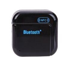 Беспроводной Автомобильный NFC приемник Bluetooth BT3.0 EDR 3.5 мм Aux Стерео Аудио Музыка Приемник Адаптер для HI-FI speaker loundspeaker автомобиля