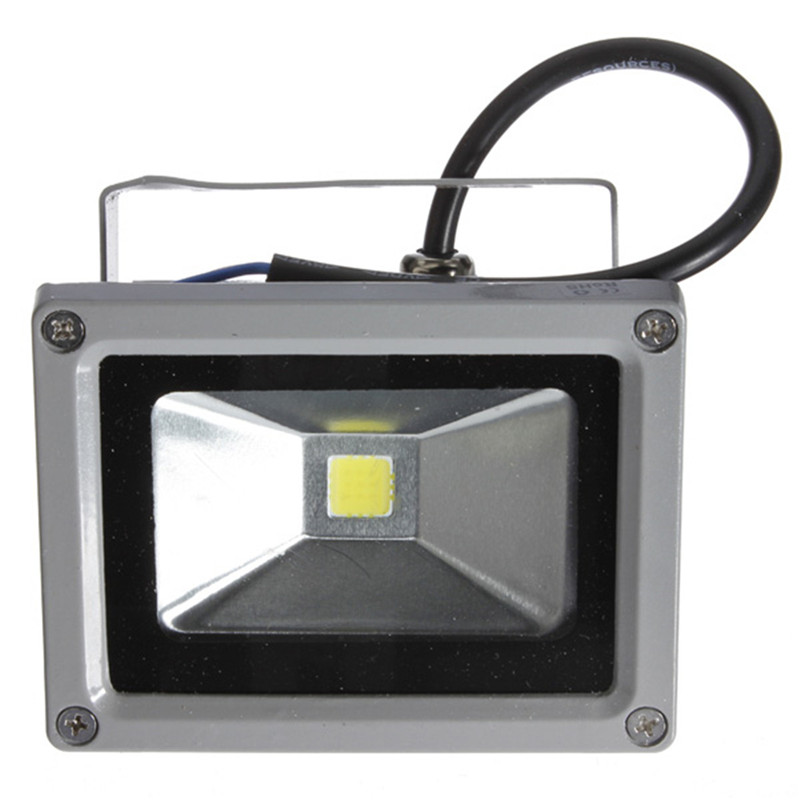Mising 10W LED Flood Light Wash Wall Light Lamp Cool White Garden Outdoor Floodlight Lamp Waterproof 85-265V