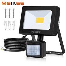 MEIKEE 10 W Светодиодный прожектор движения Сенсор Водонепроницаемый AC110V 220 V Светодиодный прожектор отражатель лампа наружный Галогеновый свет