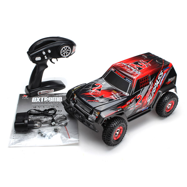 Fy02 Rc Car 4wd Electric Power 1 12 2 4g Desert Off Road Truck