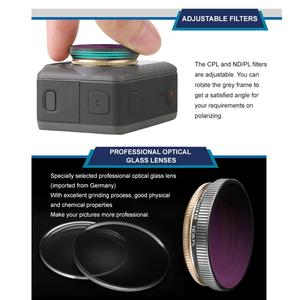 Image 3 - CPL Adjustable Lens Filters Sports Camera Lens Filters Compatible with DJI OSMO Action Vlog Handheld Gimbal Camera Accessories