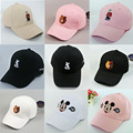 Cartoon Yeezus Hats Cartoon Embroidery Family Caps Bending Ovo Drake Baseball Cap Hat Hat Mickey Lovers Peaked Cap Bone Diamond