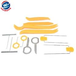 Darmowa dostawa!! 12 sztuk samochodów drzwi wewnętrzne z tworzywa sztucznego deska rozdzielcza Panel instalacja podważ Stereo zestaw narzędzi do montażu|Kamery pojazdowe|Samochody i motocykle -