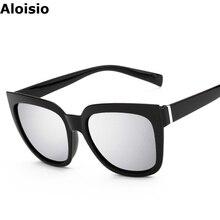 Aloisio Cat Eye Gafas Oculos UV400 Women Sunglasses PC Frame Colourful Glasses AL218