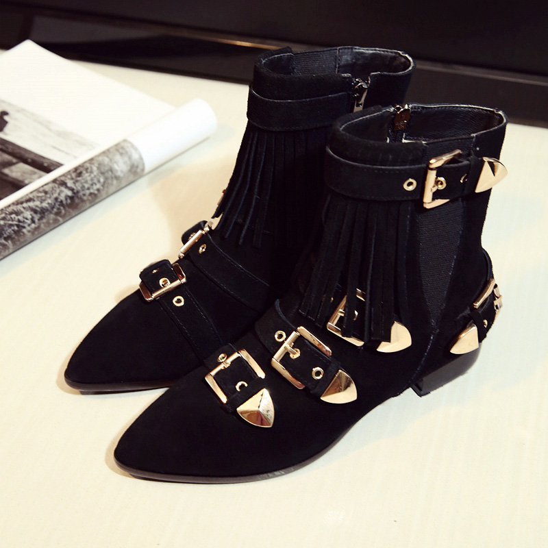 2017 Women Pointed Toe European Shoes Famous Designer