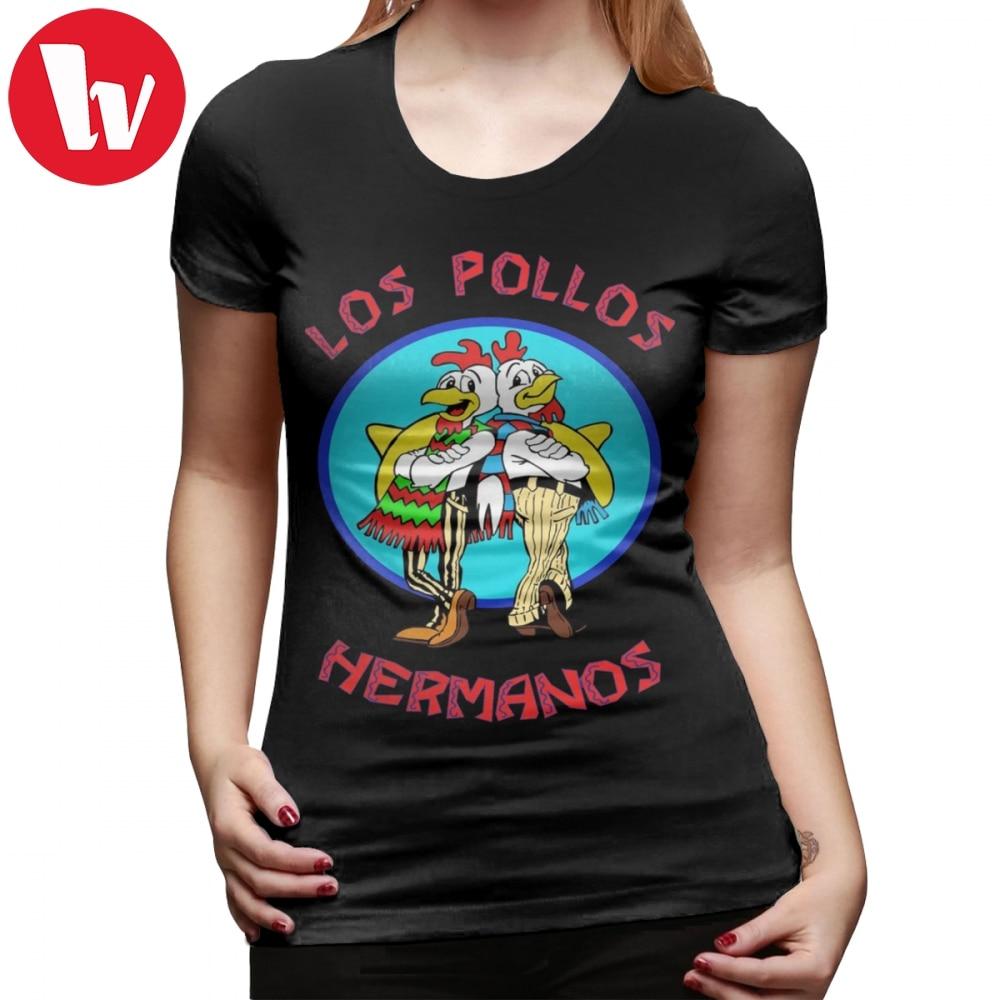 Breaking Bad Hermanos Los Pollos Women Men T-Shirt 3D Print Short Sleeve Tee top