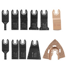 11 pcs quick change oscillating multi tool saw blade for multimaster power tools as Fein,home DIY,at good price free shipping