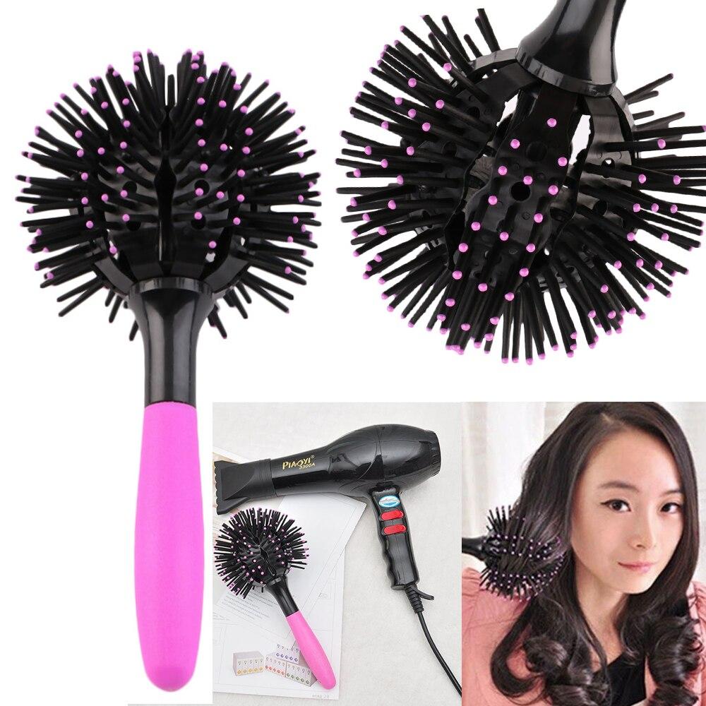 Furça flokësh të rrumbullakët për flokë - Kujdesi dhe stilimi i flokëve