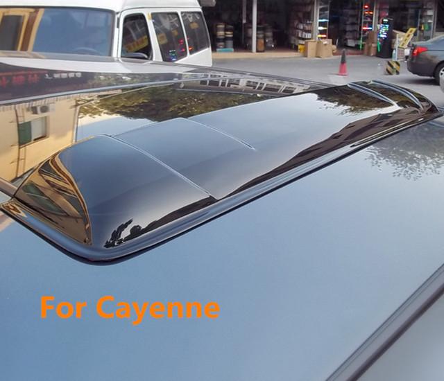 Teto solar escudos defletores de chuva tempo gruard shdows Acrílico para Panamera Cayenne 2004 ~ 2014