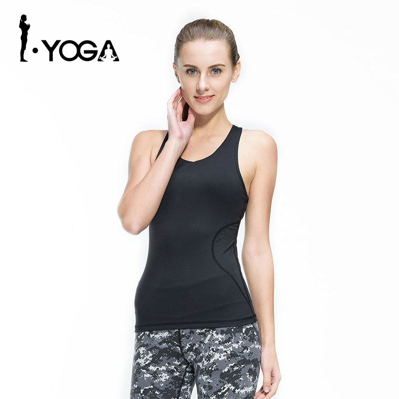fb054a1c6d7b1 Fitness Women Sexy Tight Yoga Top Gym Sports Vest Sleeveless Shirts Tank  Tops Running Clothes Female