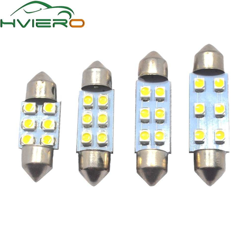 2x LED Lampe 5 x5050 SMD  H6W BA9S Farbe  Orange