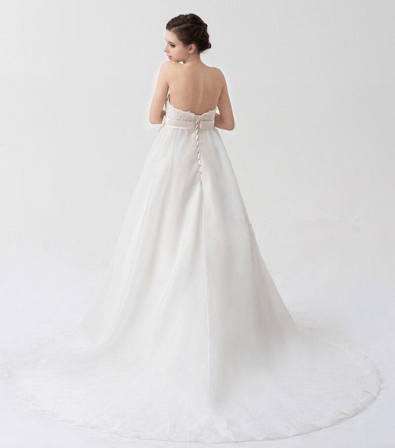 Enceinte Longueur Empire Manches Demi Veste Amovible Étage De Noiva Soirée 2018 Robes Femme Robe pcBXS