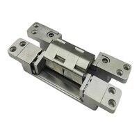 Dobradiça de aço inoxidável ajustável tridimensional 190*30*32 MM Dobradiças Pesadas portas de madeira X3