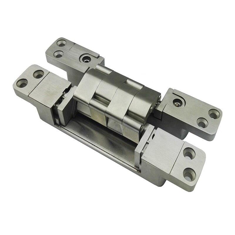 Three dimensional adjustable stainless steel hinge 190*30*32MM Heavy wooden doors Hinges X3