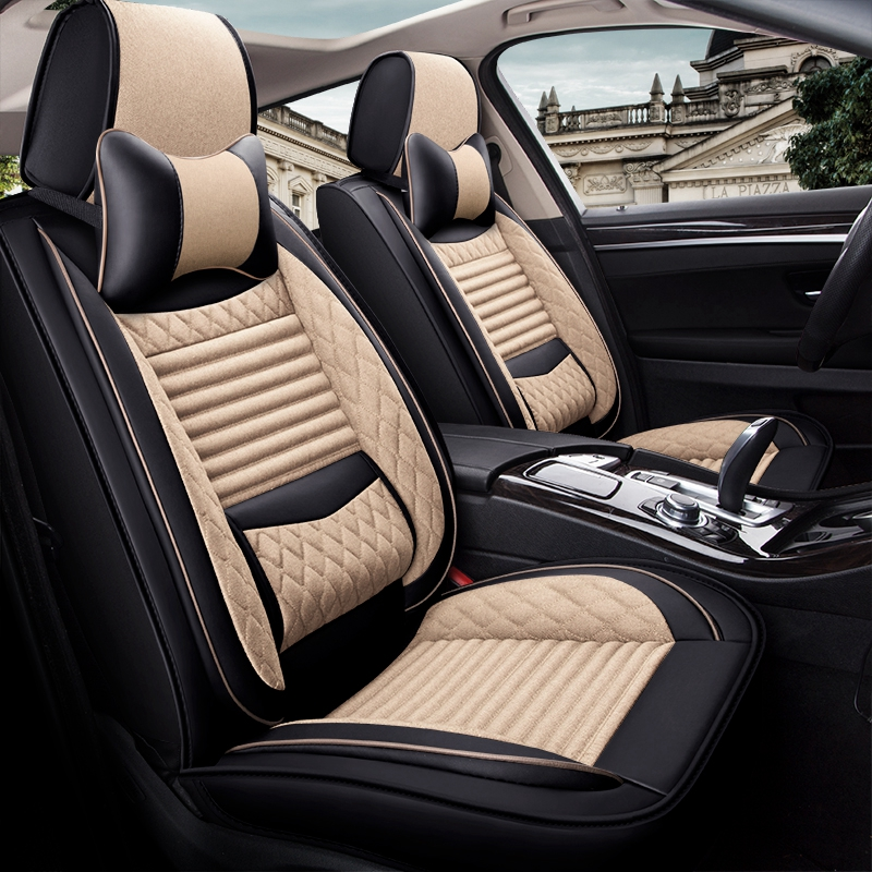 Heavy Duty Black Rear Seat Cover Back Protector For Skoda Rapid Estate 2013 On