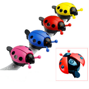 Ladybug Bicycle Bell Kid Children Bike Bicycle Cycling Accessories Handlebar Ring Sound Horn Bell Alarm