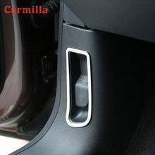 Capô do motor do carro interruptor botão capa decorativa círculo adesivos apto para peugeot 2008 2014 - 2019 lhd acessórios do carro