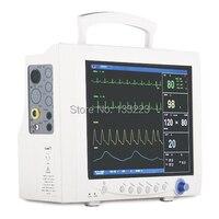 CE Утвержден 6 параметров пациента Мониторы 12 1' EtCO2 принтер медицинского оборудования машины