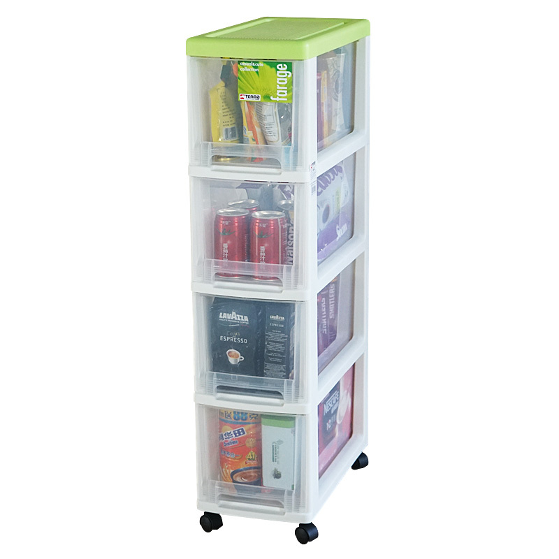 Attractive Pegasus Tenma Removable Plastic Belt Pulley Narrow Version Of The Four Slot  Rack Drawer Storage Cabinets Lockers In Storage Bags From Home U0026 Garden On  ...