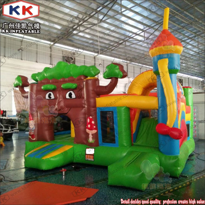 Residential Inflatable Jumping Castle for Family Use ...