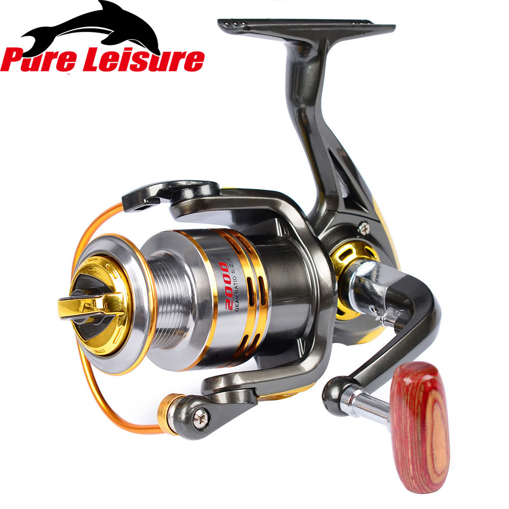 PureLeisure 11BB 5.2:1 Spinning Fishing Reels Power Handle Fly Wheel Carp Fishing Wheel Fishing Reel Handle Tool Accessories