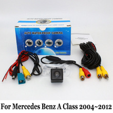 Для МБ Mercedes Benz A Class W169 2004 ~ 2012/RCA Проводной Или беспроводной/CCD Ночного Видения Заднего Вида Камеры/HD Широкоугольный Объектив угол